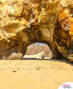 O grande arco na pedra