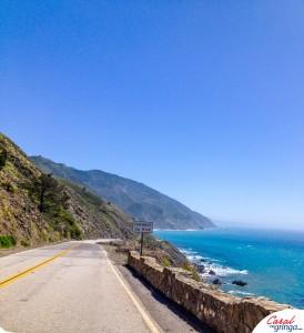 Visão do sentido San Francisco a San Diego.