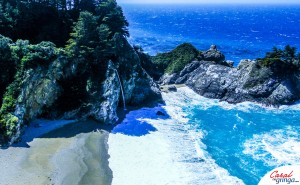 MCWay Falls no Julia Pfeiffer Burns State Park