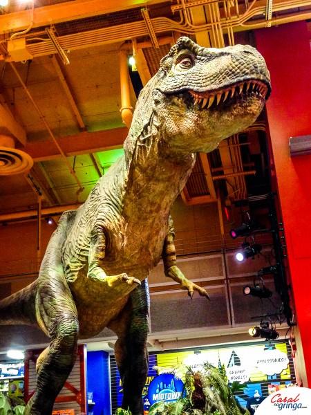 O pequenino robo do Tiranossauro Rex