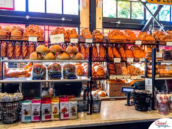 Os famosos pães da Boudin