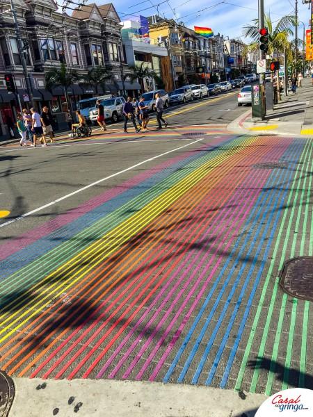Faixa de pedestre em Castro