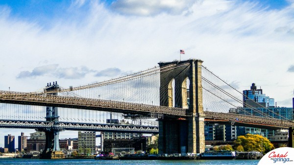 A bela Brooklyn Bridge