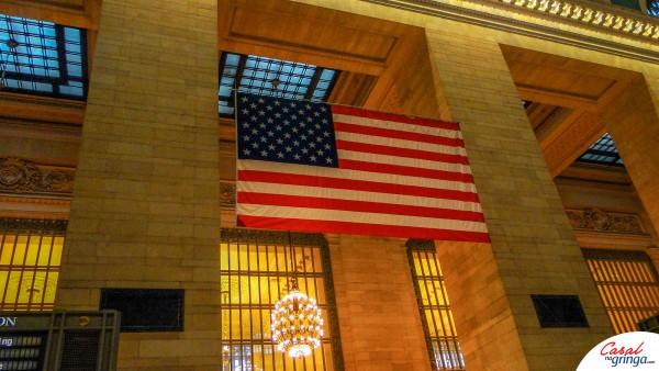 A Bandeira Americana sempre em Evidência