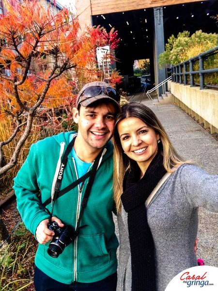 O casal no High Line :)