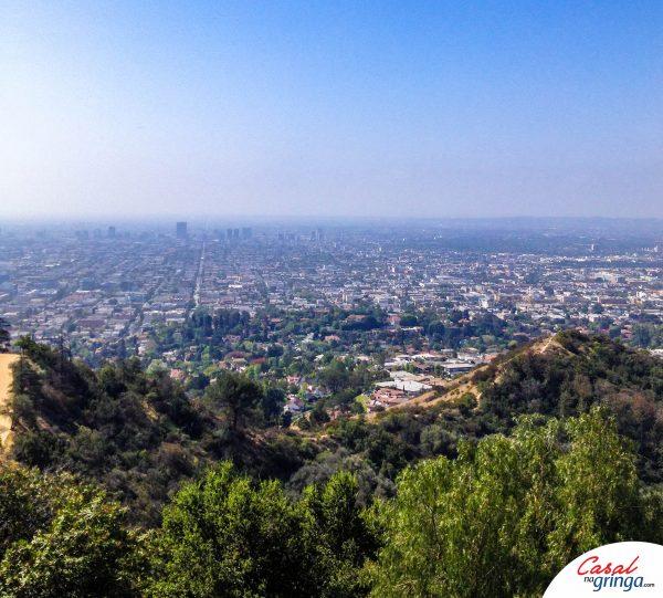 Linda vista de Los Angeles