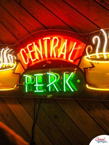 Entrada do estúdio do Central Perk