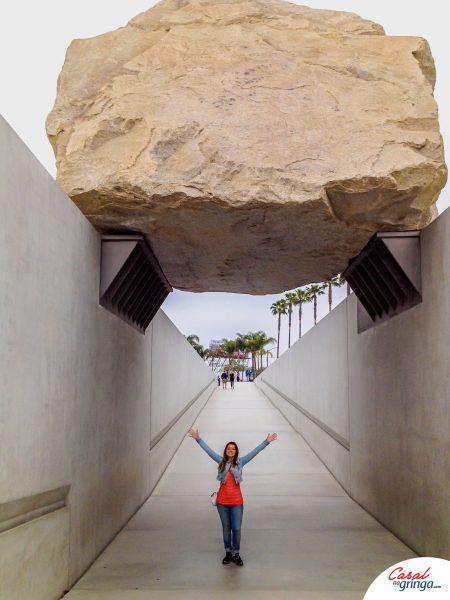 Pedra gigante da obre de